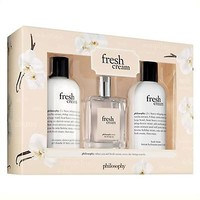 Philosophy Fresh Cream 3 Piece Set