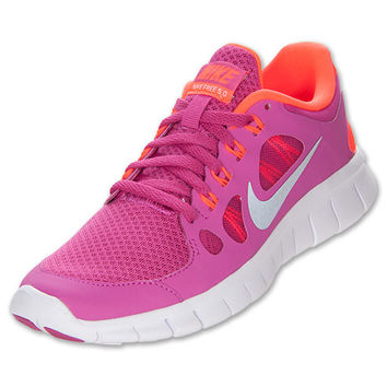 Girls  Grade School Nike Free Run 5 Running Shoes b83decb6a