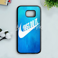 Nike Red Splash Samsung Galaxy S7 Edge Case | armeyla.com