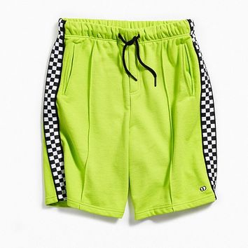 Lazy Oaf Checkered Stripe Short | Urban Outfitters