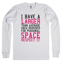 Personal Space Required Shirt-Unisex White T-Shirt