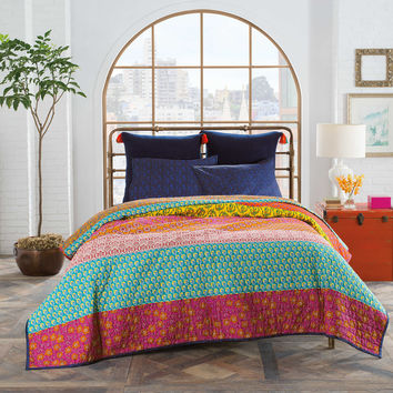 Anthology™ Samara Twin Quilt In Blue