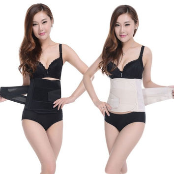 2015 new  tummy trimmer slim waist shaper belt waist slimming corset Waist Cinchers = 1929556740