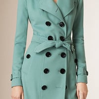 Cashmere Trench Coat