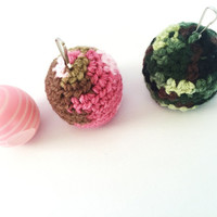 EOS Holder/EOS Lip Balm Cozy/EOS/Sephora lip balm holder/Camo eos Holder - with Clip