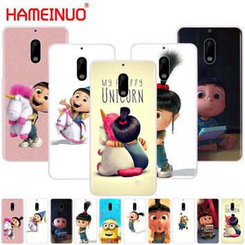 bb5cc296316 HAMEINUO My Unicorn Agnes Minions cover phone case for Nokia 9 8 7 6 5 3