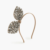 crewcuts Girls Jeweled Bow Headband