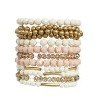 Pieces Sikla Multipack Stretch Bracelet