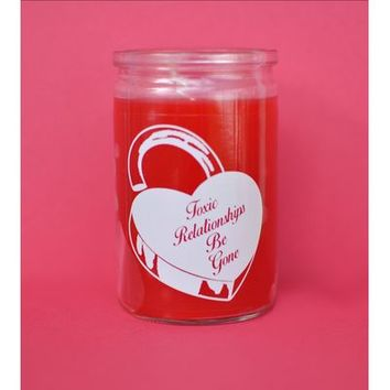 HOME :: Living :: HOUSEWARES :: Toxic Relationships Candle (Red)