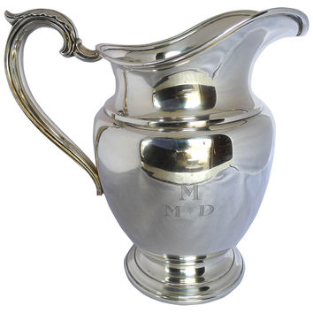 Antique Sterling Water Pitcher