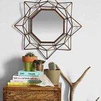 4040 Locust Geo Copper Wire Mirror- Copper One