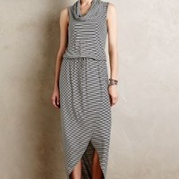Cowlknit Midi Dress by Dolan Left Coast Black & White