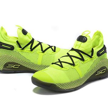 Under Armour Curry 6 - Fluorescent Green