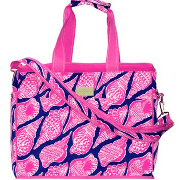 Lilly Pulitzer Insulated Cooler - Cute as Shell