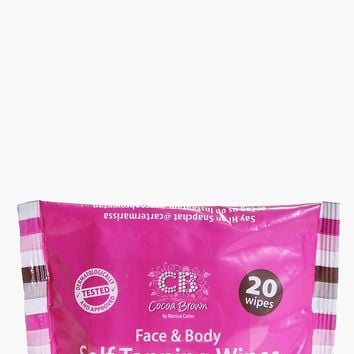 Cocoa Brown Face And Body Tanning Wipes | Boohoo