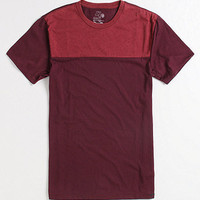 On The Byas Poplar Colorblock Burnout Tee at PacSun.com