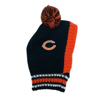 ONETOW Chicago Bears Pet Knit Hat