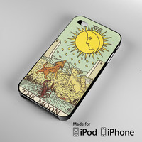 moon card iPhone 4S 5S 5C 6 6Plus, iPod 4 5, LG G2 G3, Sony Z2 Case
