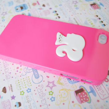 SALE: Barbie Hot Pink Iphone 4 4s Case