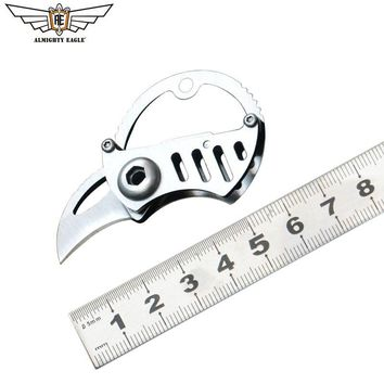 ALMIGHTY EAGLE Portable Mini Blade Knife EDC knives Survival Camping Hiking Hand tools Multifunction tool Pocket tools