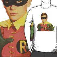 Burt Ward Robin T-Shirt by retrorebirth