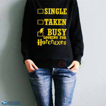 Inspired Property Horcrux Sweatshirts Quidditch Harry Funny Unisex Sweater S-5XL