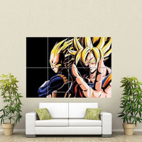 Dragon Ball Z Giant Wall Posters High Quality DBZ Home Decor