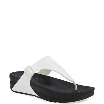Women's FitFlop 'Superjelly' Thong Sandal