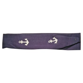 Anchor Knotted Headband