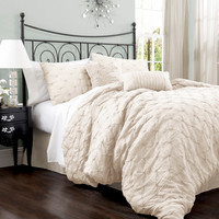 Walmart: Lake Como 4-Piece Bedding Comforter Set