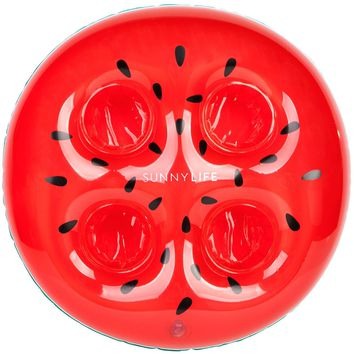 Inflatable Watermelon Drink Holder by Sunnylife