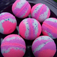 CARIBBEAN ESCAPE bath bombs, Fizzy Bath Bombs, Lush Bath Bombs, Fizzing Bath Bomb, Tropical Bath Bomb, Handmade Bombs, fruity Bath Bomb