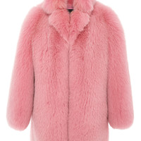 Cotton Candy Fox Coat | Moda Operandi