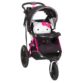 Hello Kitty Pin Wheel Calypso Jogger Stroller by Baby Trend (Pink)