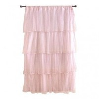 Sleeping Partners Multi-Layer Tulle Curtain Panel in Pink - dpnstl004 - All Window Treatment - Window Treatment - Decor