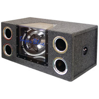 "Pyramid Dual Bandpass System With Neon Accent Lighting (12"" 1200 Watts)"