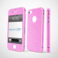 Bestgoods — Cool Shiny Rhinestone Full Body Cover Skin Sticker Shield For IPhone 4/4s/5
