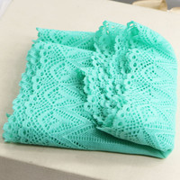 Free shipping Hot selling Width 15cm Super Elastic Lace Fabric diy clothes fabric accessories big size lace