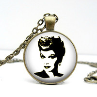 Lucille Ball Necklace : I Love Lucy