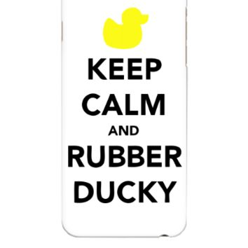 KEEP CALM AND RUBBER DUCKY - iphone 6 Plus Case