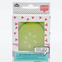 Natural Products Cucumber Gel Eye Pads - Urban Outfitters