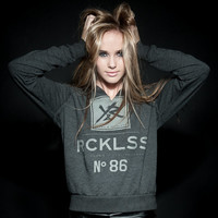 Young And Reckless Black Friday WOMENS NUMBER 86 PULLOVER HOODIE- BLACK
