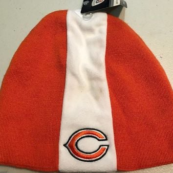 CHICAGO BEARS WINTER KNIT RETRO SIDELINE SKULL WINTER KNIT HAT  SHIPPING