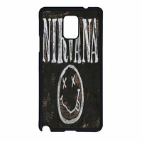Nirvana Wood Sign Art Samsung Galaxy Note 4 Case