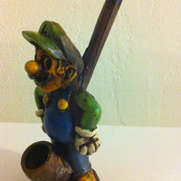 Tobacco Hand Made Pipe, Luigi Design