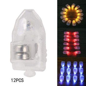 Christmas Sale 12pcs Mini Led Party Lights For Lantern Small Balloon Light Floral Mini Led Lights For Wedding Party Glass Vases