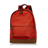 River Island MensRed Mipac backpack
