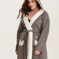 Sleep Fox Fleece Robe