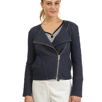 Nautica Asymmetrical French Terry Jacket