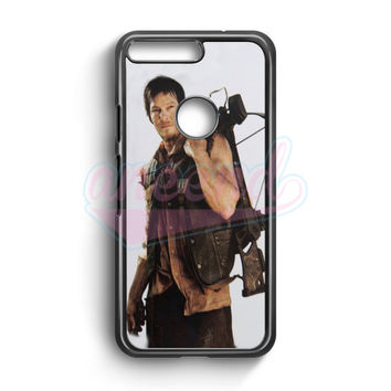 Daryl Dixon Galaxy Nebula Space Google Pixel Case | aneend.com